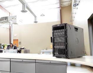 PowerEdge T430塔式服务器 - 易于扩展和调整,用途更广泛